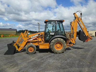 Case 580M Farm Tractor Loader Backhoe