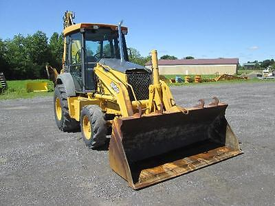 John Deere 410G Farm Tractor Loader Backhoe