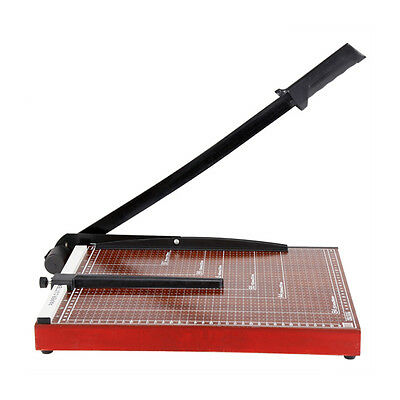 "SY deli 15""x12"" inch Sturdy Metal Base Paper Cutter Trimmer Scrap Booking Guillo"