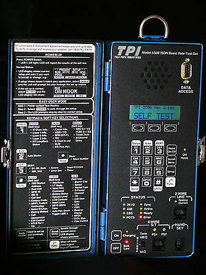 TPI 550B ISDN Basic Test Set Kit