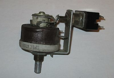 Ohmite Rheostat With Switch