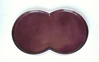 Block Chromatics Germany Dishes Platter Serving Tray Red Lavender Round Circles