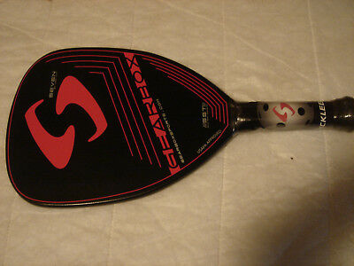 GEARBOX SEVEN  PRO 7 oz. Pickleball paddle 3 5/8 grip - LARGER grip available