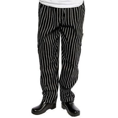 Chef Works - GSBP-S - Chalk Stripe Designer Chef Pants (S)