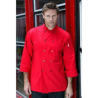 Chef Works Nantes Chef Coat Jacket - Red - All Sizes