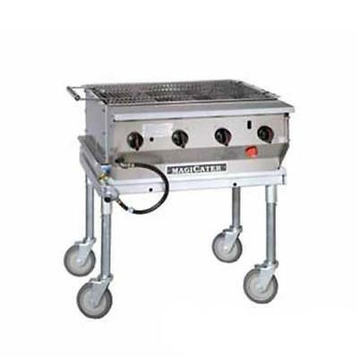 MagiKitch'n - NPG-30-SS - 30 in Magicater Portable Outdoor Gas Charbroiler