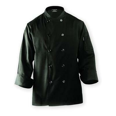 Chef Works Bastille Chef Coat Jacket - Black - All Sizes - BAST