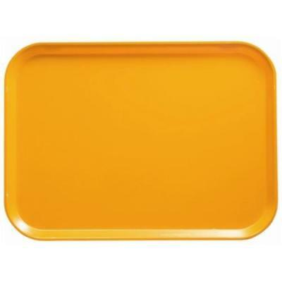 Cambro - 1418504 - 14 in x 18 in Mustard Yellow Camtray®