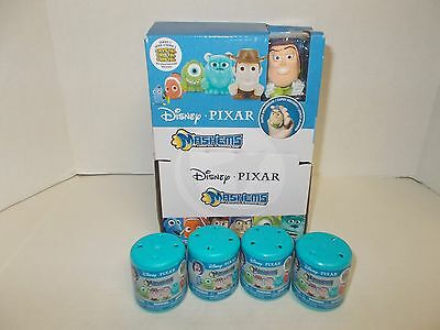 *new** Disney Pixar  Mashems Series 1 Lot Of 4 / Vhtf !!