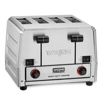 Waring - WCT850RC - Heavy Duty 120V Switchable Bread/Bagel Toaster