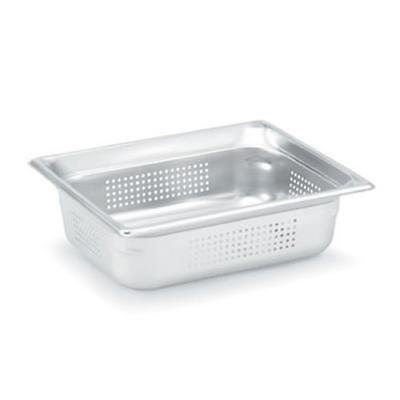 Vollrath - 90263 - Half Size 6 in Deep Perforated Steam Table Pan