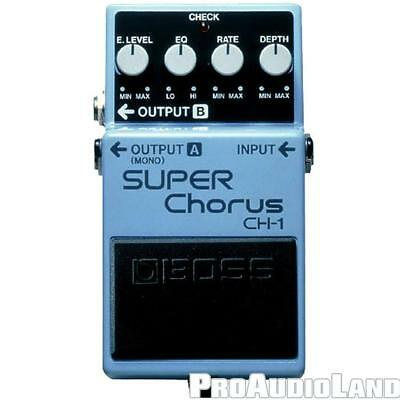 Boss CH-1 Stereo Super Chorus Guitar Effect Pedal NEW