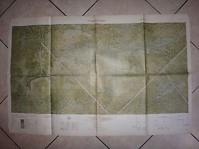 Vietnam War Color Photomap PICTOMAP SUPPLEMENT Sheet 6027 I N, As Of Year 1965