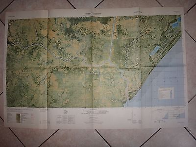 Vietnam War Color Photomap PICTOMAP SUPPLEMENT Sheet 6027 II S, As Of Year 1965