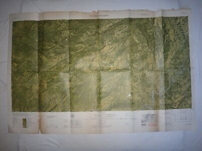 Vietnam War Color Photomap PICTOMAP SUPPLEMENT Sheet 6027 IV N, As Of Year 1965