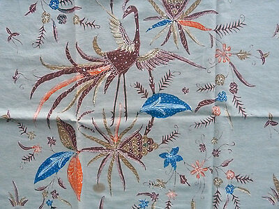 Batik Textile Fully Handmade Indonesian Old Tuli