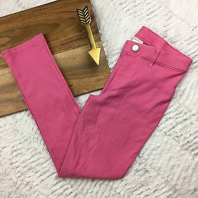 Gymboree Pink Jeggings Ponte Pants Skinny Jeans Pull Up Girls Size 8