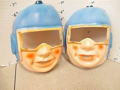 halloween mask vintage 1960s (1) Space Man astronaut alien invaders from mars