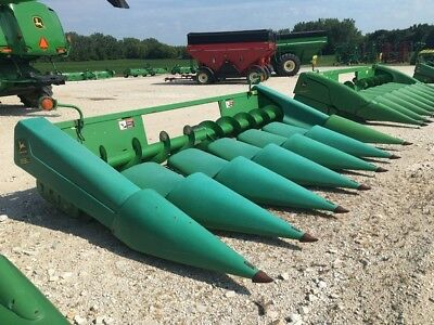 1995 John Deere 693 Headers