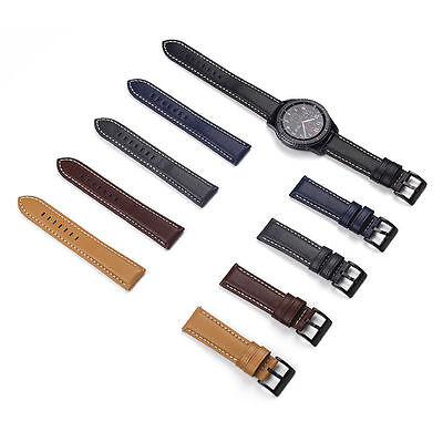 Luxury Leather Bracelet Strap Watch Band For Samsung Gear S3 Frontier/Classic
