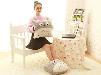 My Neighbor Totoro Hand Foot Warm Throw Hold Pillow Hand Cushion Home Decor Toy