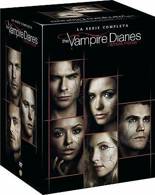The Vampire Diaries La Collezione Completa 1-8 (38 Dvd) Serie Tv Cult