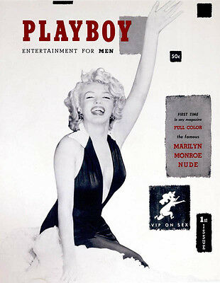 Playboy First Issue December 1953 (Reprint) Rare Collector's Ed Marilyn Monroe