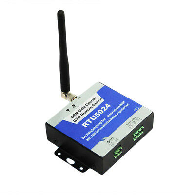 Gsm Gate Garage Door Barrier Opener Relay Switch Wireless Remote Control Fitted