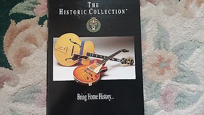 Vintage Gibson Guitar catalog Historic Collection 1994