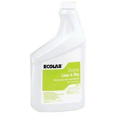 Commercial-Strength -- ECO 15210 Ecolab Lime Away Clinging Gel (6/cs),6115210