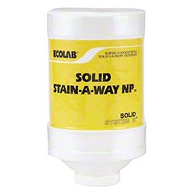 ECO 13649 Ecolab Solid Stain A Way NP Power Laundry Stain Remover (2/cs),6113649