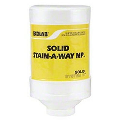 Power.  ECO613649 Ecolab Solid Stainaway NP Power Laundry Stain Remover (2/cs)