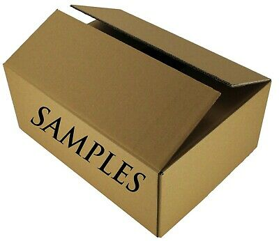 Sample Shipping Boxes Postage Only Charge - Customer Quote