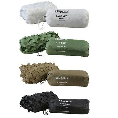 Army Sniper Camo Net 3M X 2M Kids Hiding Den Netting Hunting White Snow Desert
