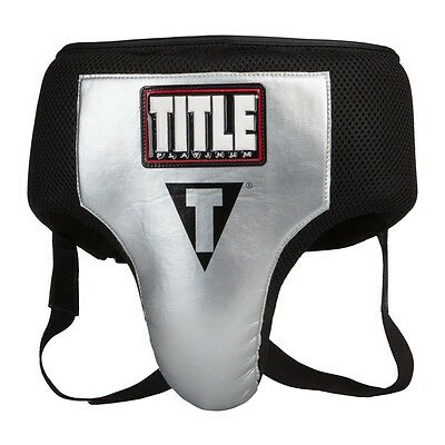 TITLE Boxing Platinum ACS Washable Groin Protector