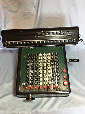 Vintage Antique Monroe Calculating Machine New York USA