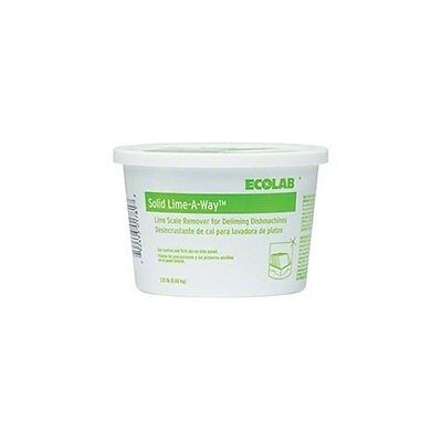 Hate Arm + Back Scrub Agony?  ECO6115905 Ecolab Lime Away Solid Delimer (6/cs)