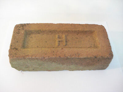 Antique Stamped H Horseheads NY Consolidated Brick Co Red Brick Street Paver
