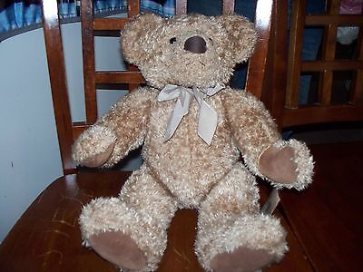 RUSS BEAR VINTAGE PENDLEBURY 18 INCHES VERY GOOD COVERED TAG MINT last discount
