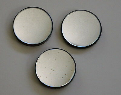 51Mm Dia. Replacement Plano-Concave Mirrors For Antique Or Vintage Microscopes