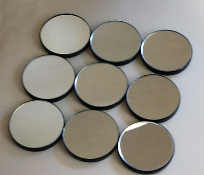 55Mm Dia. Replacement Plano-Concave Mirrors For Antique Or Vintage Microscopes