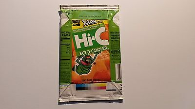 Hi-C Ecto Cooler box - Empty and Flattened. X-Men profile on back