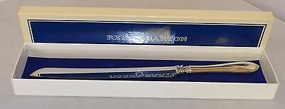"""French Antique by Reed & Barton Sterling Handle Cake/Bread Knife 12 3/4"""""""