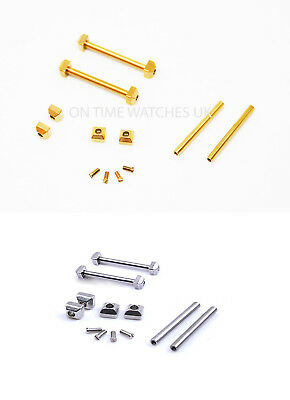 Stainless Steel Pins For Cartier Pasha Strap/Bracelet/Band 18mm-22mm