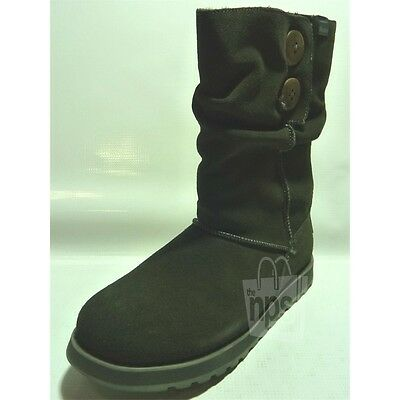 Skechers Women's Freezing Temps Winter Boots Size 6.5 Charcoal Grey Suede 47221