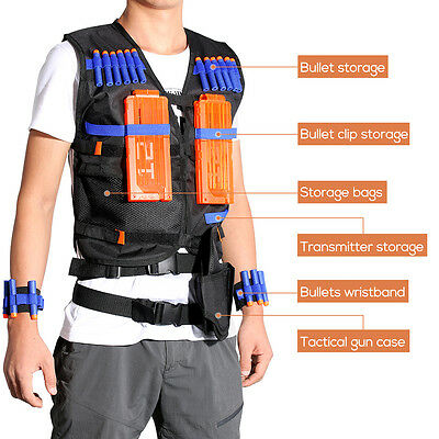 Bullets/Bullet Case/Gun Holder/Tactical Vest for Nerf Gun N-strike Elite series