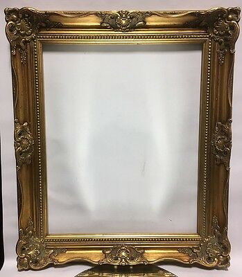 VTG Aesthetic Eastlake Victorian Style Ornate Wood Picture Frame 18x22