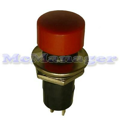 Momentary Push Button Switch 1 Circuit 3A 250V off-(on) Car/Van/Boat/Lorry