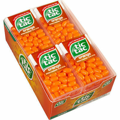 24 BIG PACK ORANGE TICTAC MINTS TIC TACS MINTS(10gm each) ,free shipping world