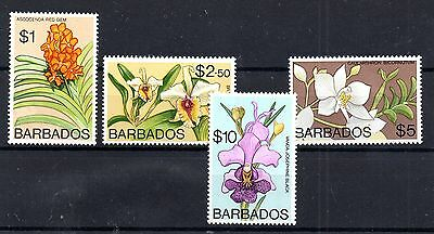 Barbados 1974 MNH high values to $10 SG497-500 WS4993